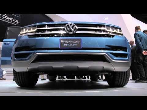 Volkswagen CrossBlue Concept First Look au Salon de Detroit 2013