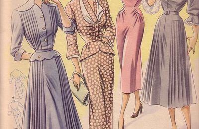 Vêtements des années 50 (Inés et Juan)