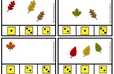 Cartapinces feuilles d'automne