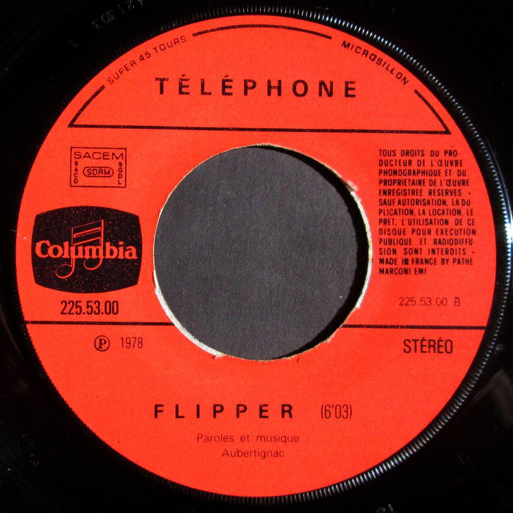 Telephone - Flipper - 1978