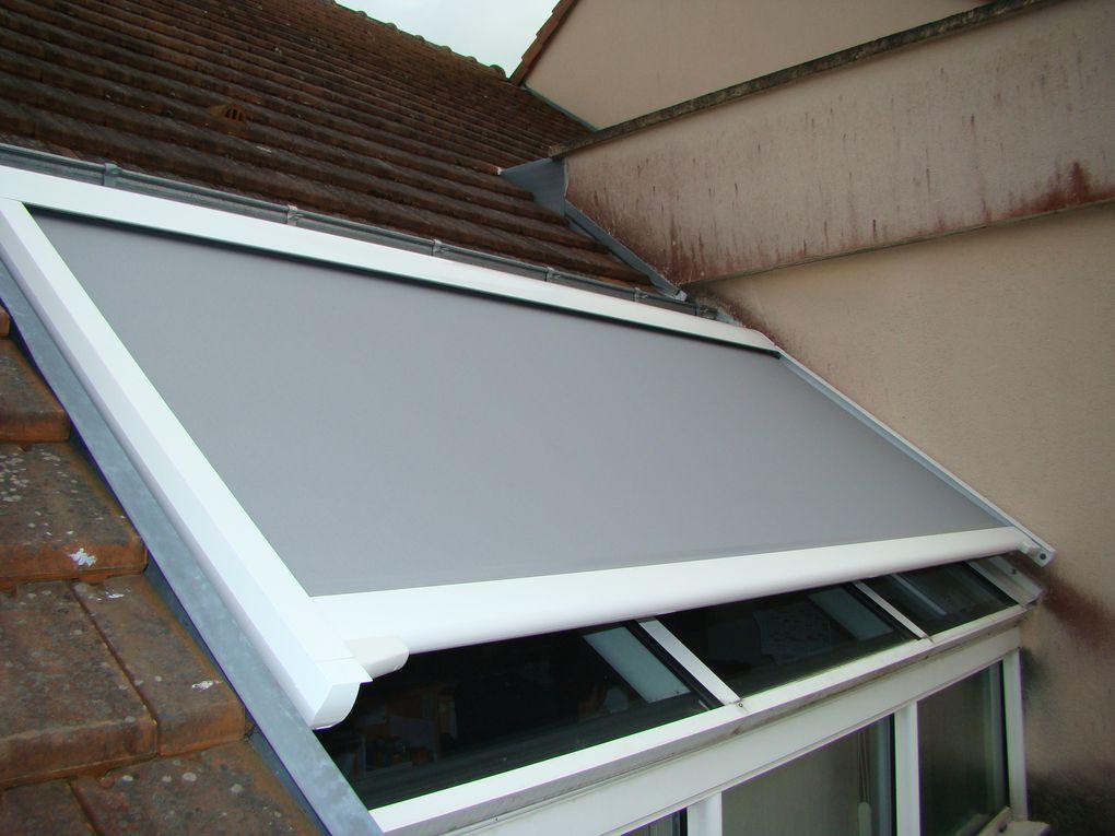Store spécifique pour veranda en intérieur ou extérieur