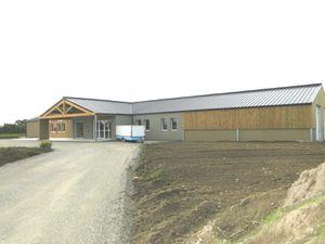 """La ferme de la Goulpière, """"le magasin"""", les locaux,  le laboratoire..."""