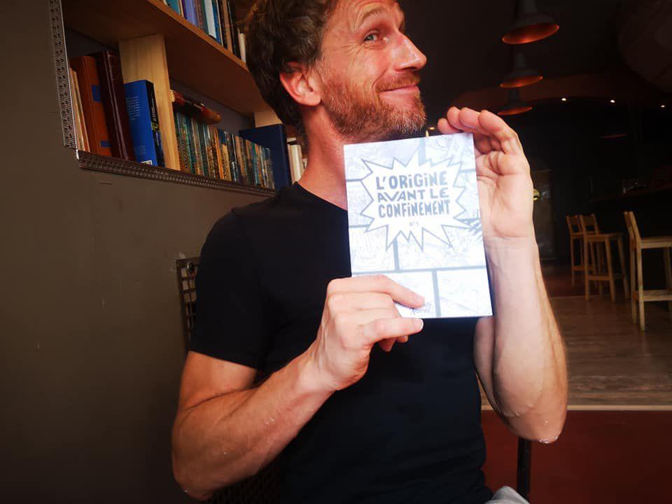 Perpignan: L'Origine Avant Le Confinement par Quentin Harel : La Soirée Mercredi 26 août  à partir de 18h30 au TÊT café! interview Quentin Harel à l'Atmosphére par Nicolas Caudeville