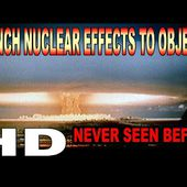 FRENCH NUCLEAR EFFECTS TO OBJECTS VERY RARE FOOTAGE !!!