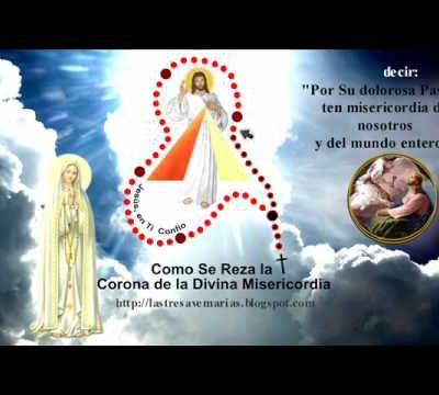 coronilla a la divina misericordia en la hora de la misericordia