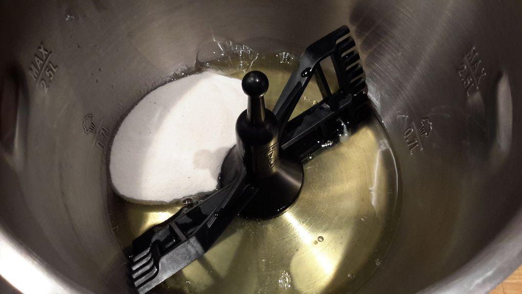 Etapes de la recette en images