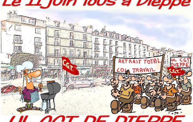 SAMEDI 11 JUIN Journée de Rassemblement, de Mobilisation et de Solidarité contre la loi travail