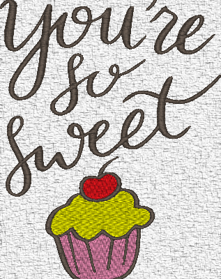 You are so sweet !