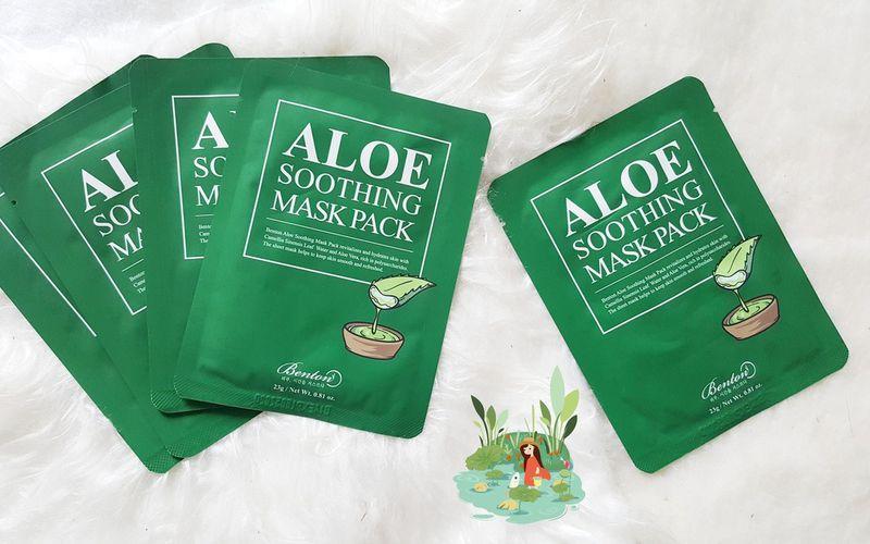 New - Benton  Aloe Soothing Mask Pack