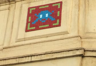 Space Invaders in Rome ...