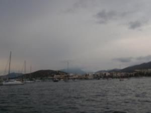 et oui il y a meme des nuages gris au mois d'aout aux Baléares !