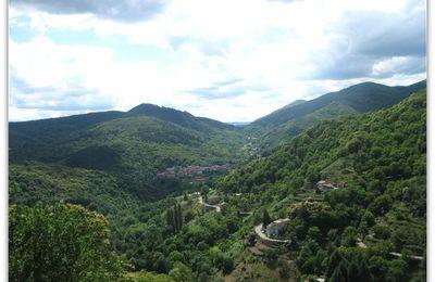 Antraigues en Ardèche