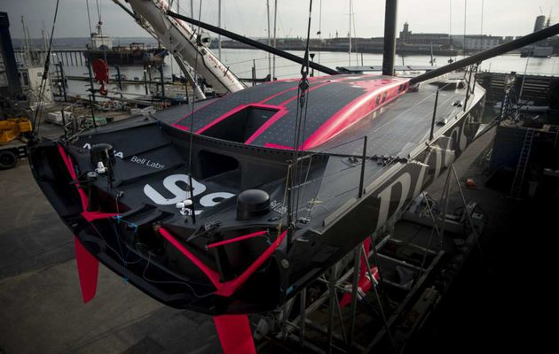 Alex Thomson's new Imoca Hugo Boss just unveiled!