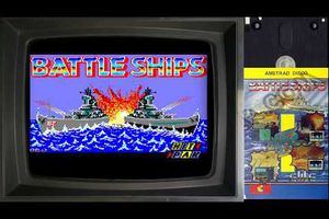 FR Let's Play {Amstrad CPC} Battle ships (Bataille Navale) 🕹