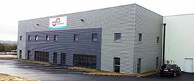 Inauguration de la nouvelle usine à Equeurdreville-Hainneville