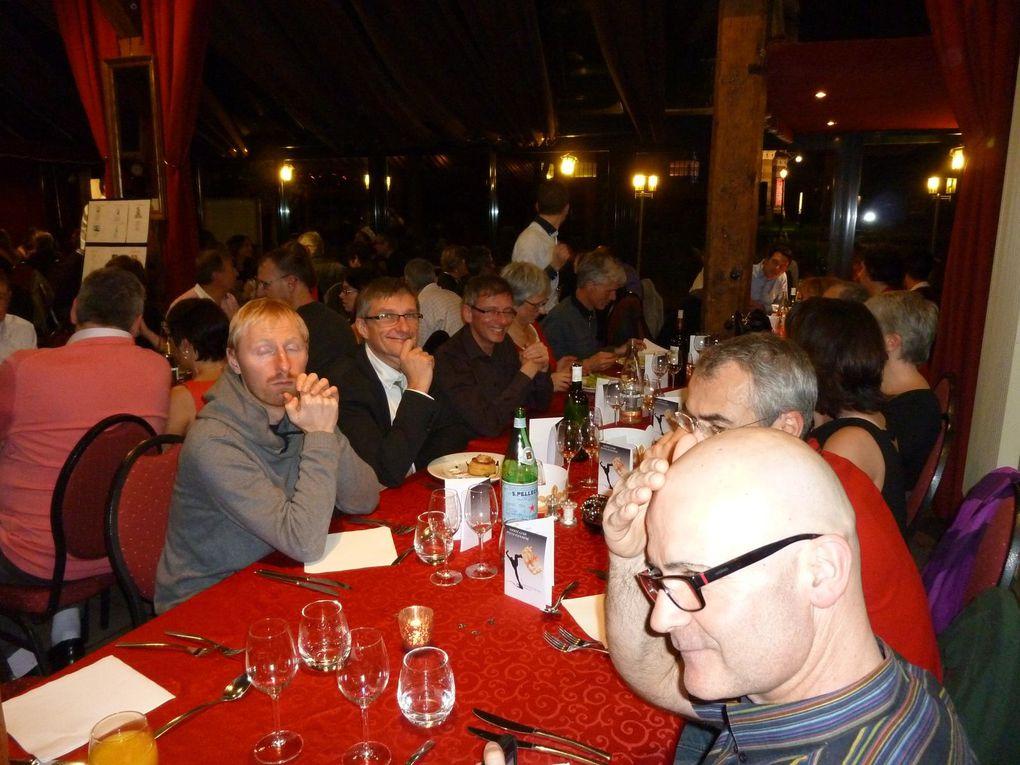 """Soirée Reines et Rois de Bussy, au restaurant de la """"Ferme du Buisson"""" à Noisiel."""