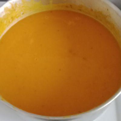 Soupe potiron carottes