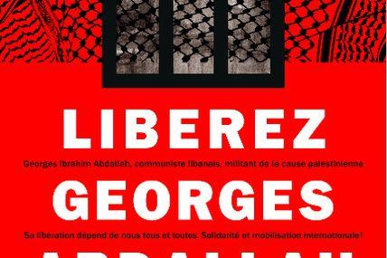 Pour exiger la libération de Georges Abdallah manifestation à Lannemezan le Samedi 4 Décembre 2010.