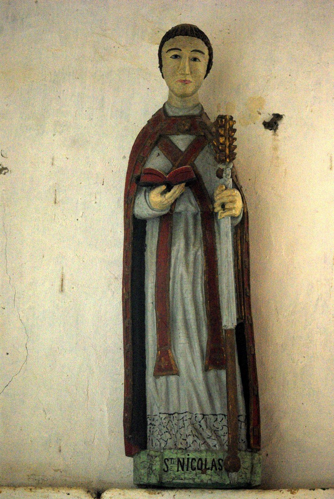Les statues de la Chapelle Saint Nicolas