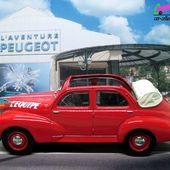 FASCICULE N°18 PEUGEOT 203 DECOUVRABLE NOREV 1/43. - car-collector.net