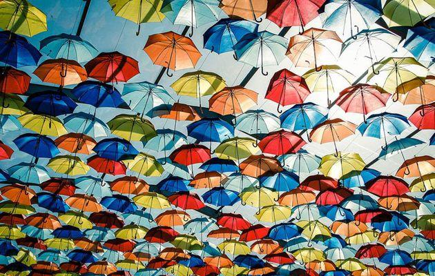 Un p'tit coin d'parapluie. Un jour en France(9)