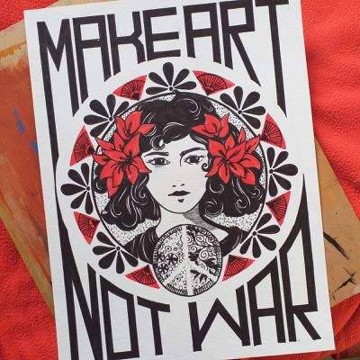 CÉSAR -  Make Art Not War