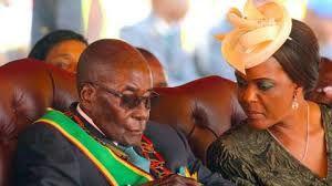 Imágenes de los Mugabe.- El Muni.