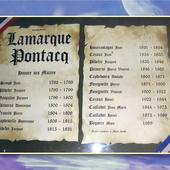 L'historique des élus de Lamarque-Pontacq... - Passions d'une vie