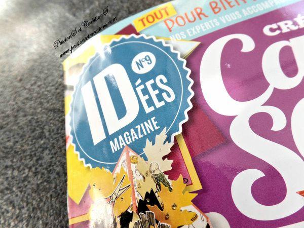Publication - Magazine - Idées Magazine - Crea, cartes et scrap - N° - 9 - PassionS et CréationS