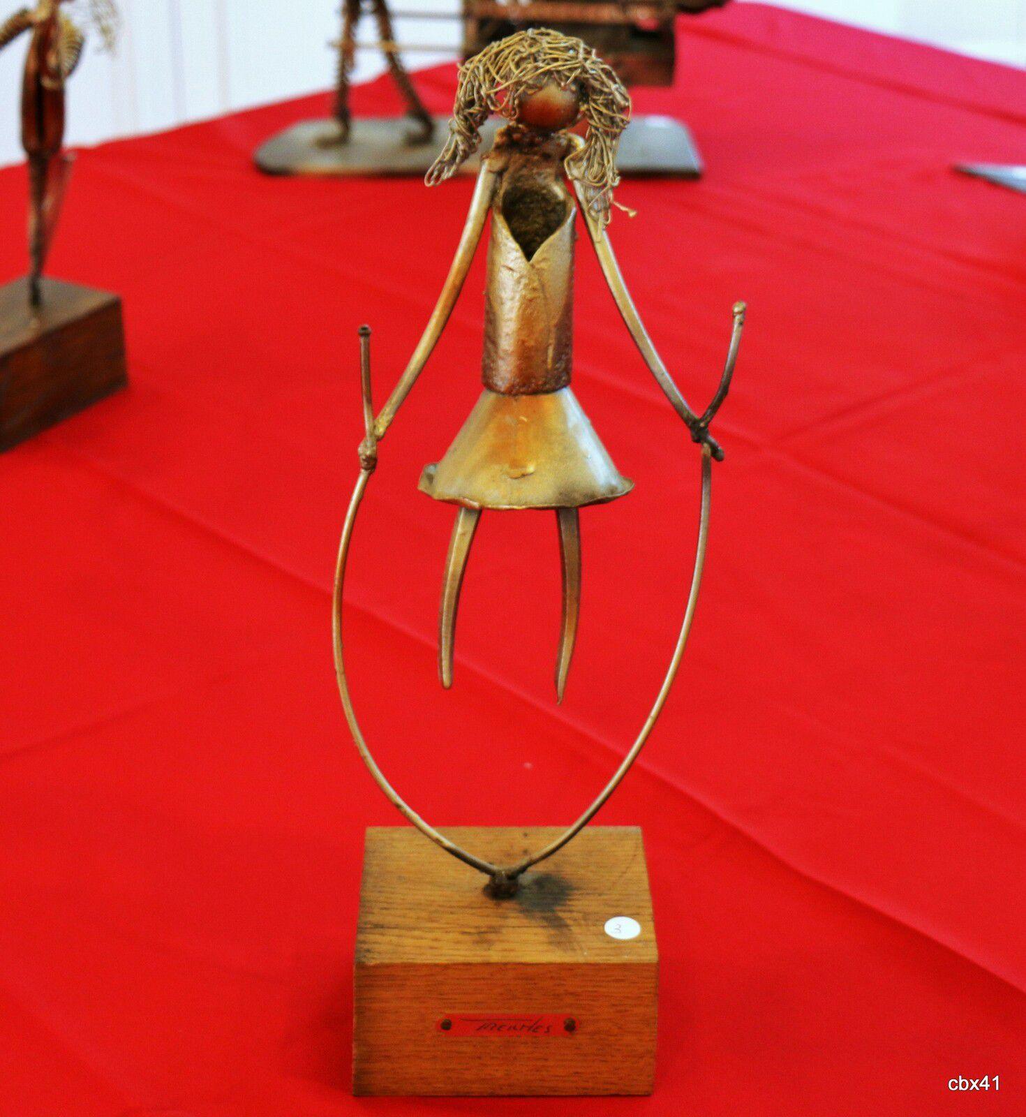 Pierre Treilhes, La sauteuse à la corde