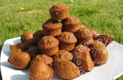 Mini Muffins au Caramel et Fleur de Sel