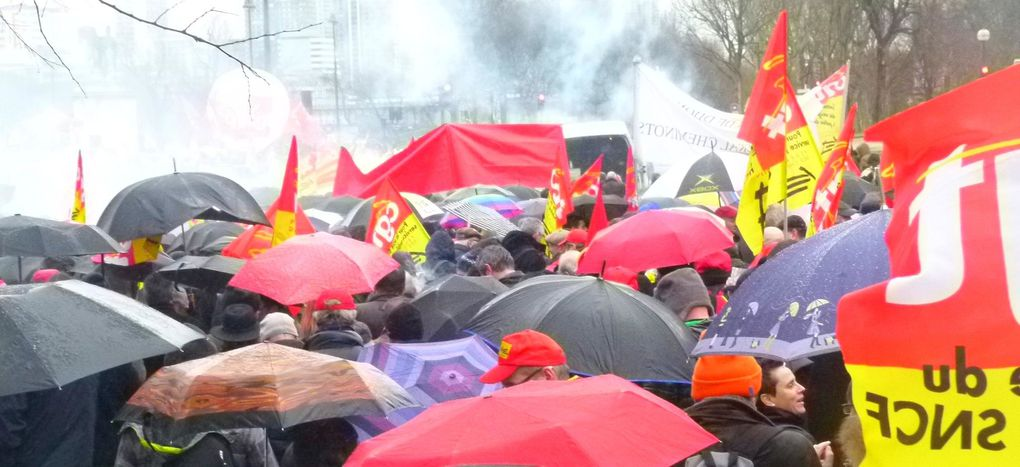 15 000 chemiots en manifestation nationale à Paris