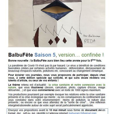 BalbuFête Saison 5, version… confinée !