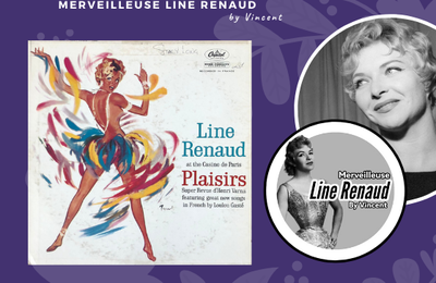 33 TOURS: 1959 Capitol - ST 10257 -Line Renaud At The Casino De Paris - Plaisirs (USA)