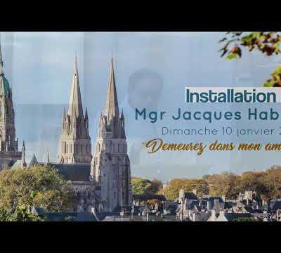 Messe d'installation de Mgr Jacques Habert.