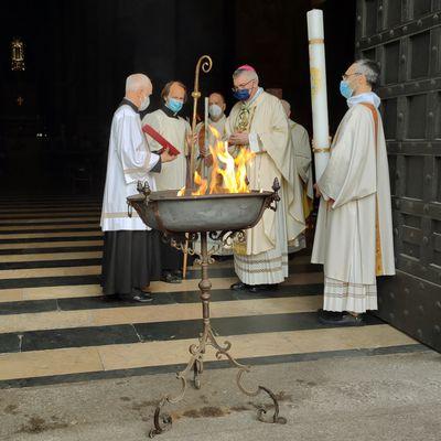 CATTEDRALE di PIACENZA: riti della settimana santa