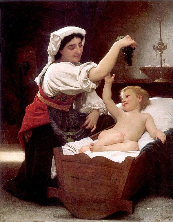 William Bouguereau (30 novembre 1825 – 19 août 1905), né et mort à La Rochelle, est un peintre français de style académique.