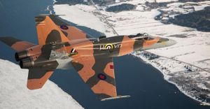 Special marking of 425 sqn RCAF for 75th anniversary BoB