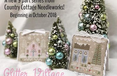 Glitter Village. La nueva colección de Country Cottage Needleworks