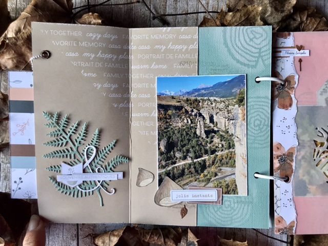 Mini album d'automne * Invitée Créative Ephemeria *