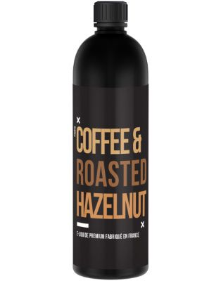 Test - Eliquide - Coffee & Roasted Hazelnut de chez Remix Juice