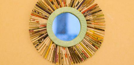 magazines et miroir