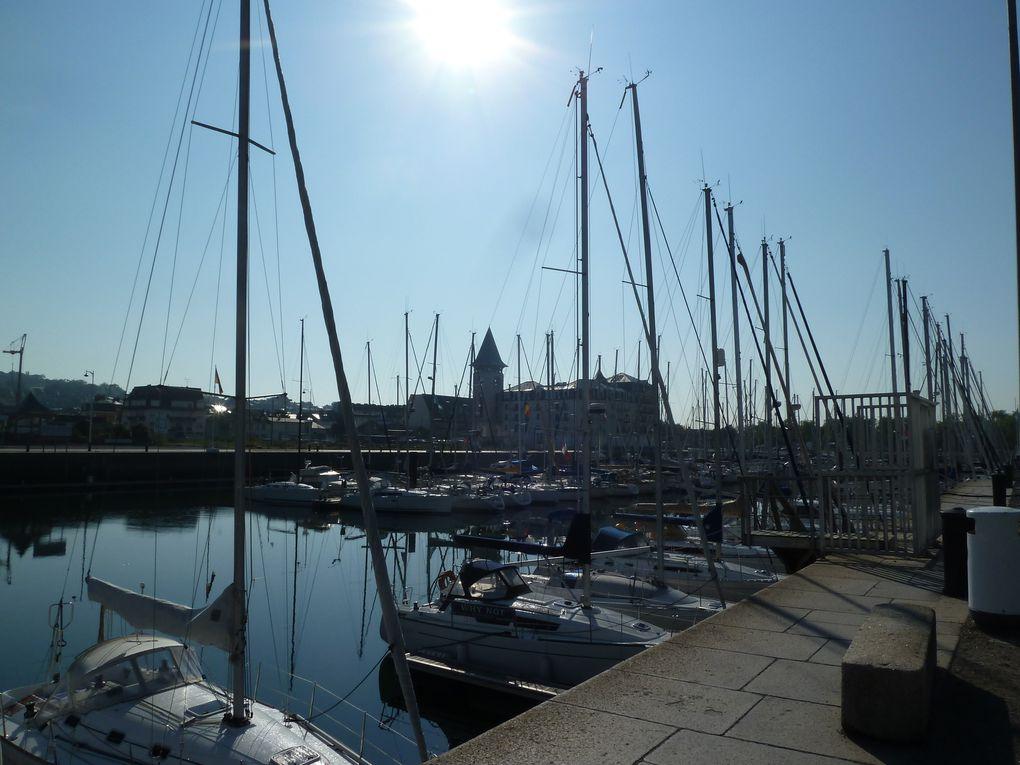 Près de 400 bateaux y stationnent à l'année. Côté ville, le Bassin est longé par le Deauville Yacht Club et l'école de voile. Côté Touques, des aménagements récents d'un nouveau quartier.Terrasses, logements, lieux de vie, places et promenades valorisent les six hectares situés entre le Bassin Morny et la Touques.   Des hommes du petit chantier naval étaient occupés à débarrasser des divers algues et coquillages collés sur les coques des bateaux de plaisance.