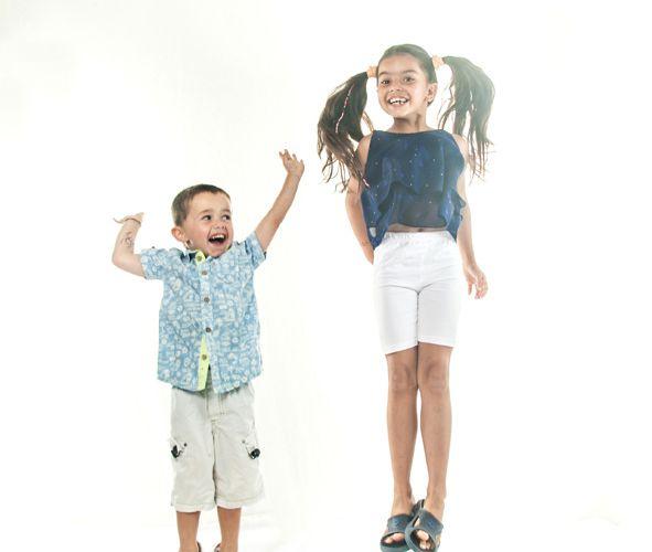 22 août - Portrait d'Aziliz et son petit frère