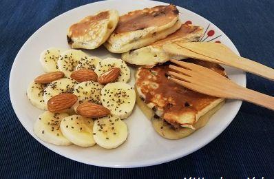 Pancakes moelleux aux pépites de chocolat