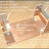 métiers à tisser les perles (tutoriel gratuit - DIY)