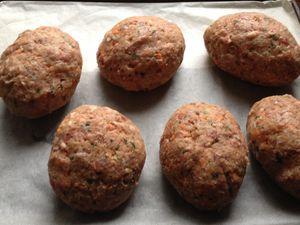 scotch eggs TM5 (et sauce au cheddar/oignons TM5)