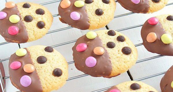Cookies Bicolores Chocolat & Smarties