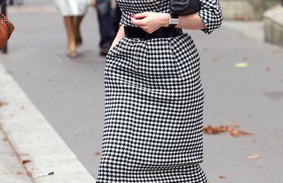 Dita von teese casual look