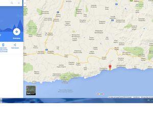 A l'est de Tsoutsouros, un bivouac juste  en face de la mer (Dermatos Beach)